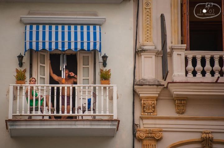 Window to Havana's Prosaic Life