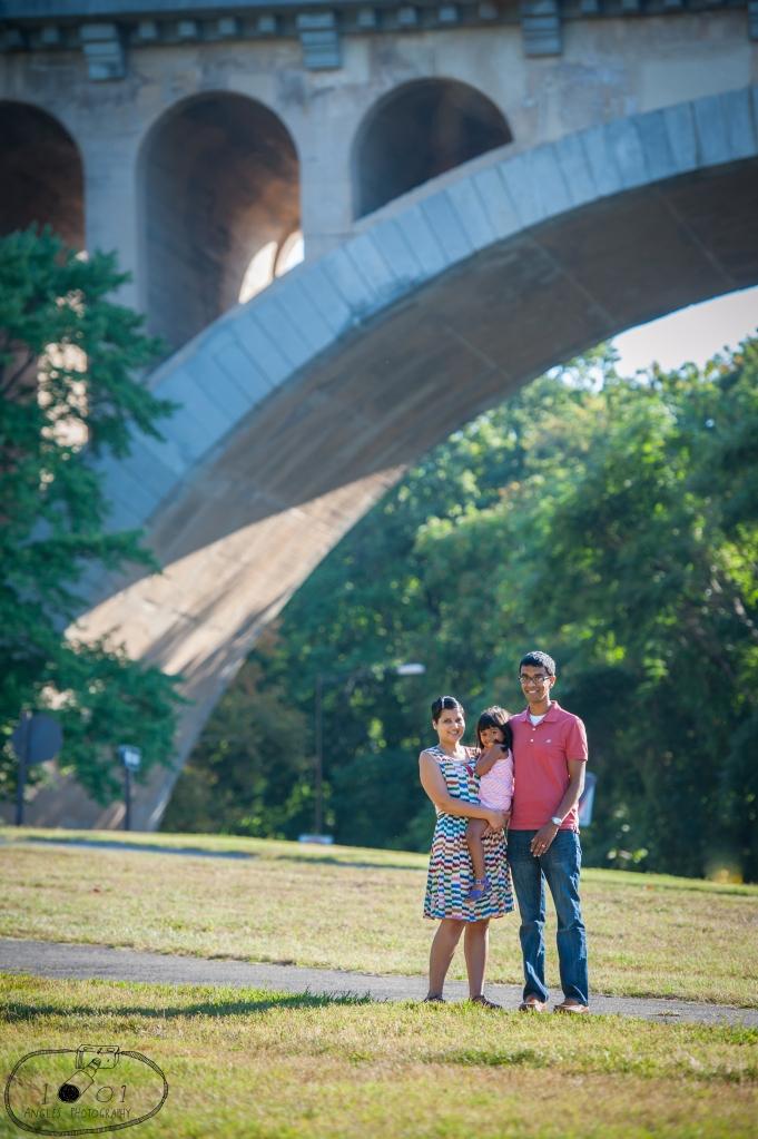 1001 Angles Family Photo Session, Washington DC