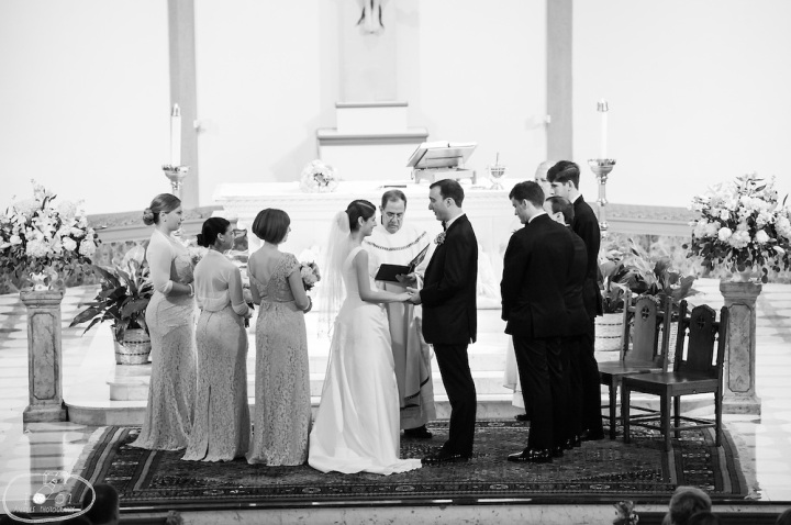 st patrick's cathedral washington dc wedding 1