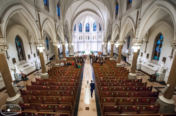 st patrick's cathedral washington dc wedding 2