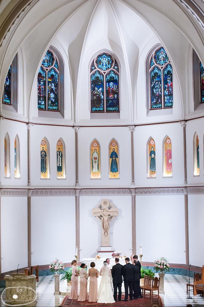 st patrick's cathedral washington dc wedding