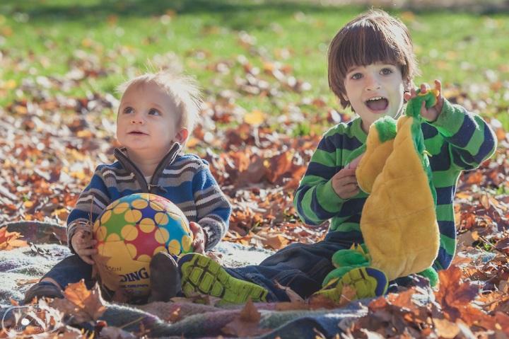 Family Portraits in Crispus Attucks Park