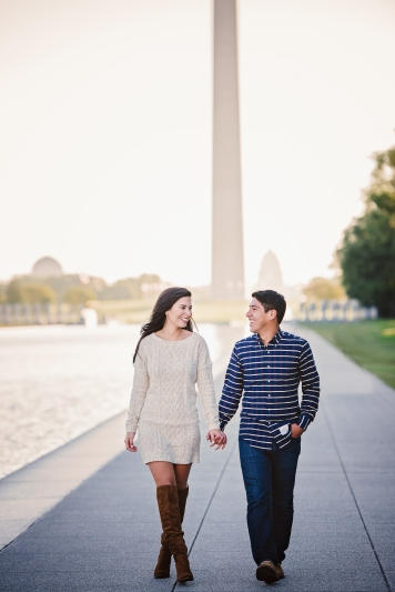 jefferson-memorial-sunrise-engagement-session-7
