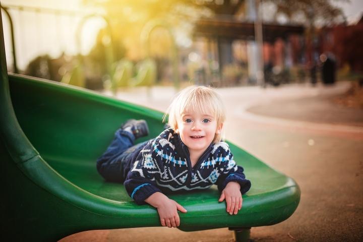 Harry Thomas Park Family Photo Session -1