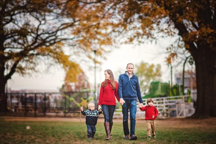 Harry Thomas Park Family Photo Session -10