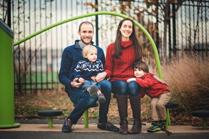 Harry Thomas Park Family Photo Session -13
