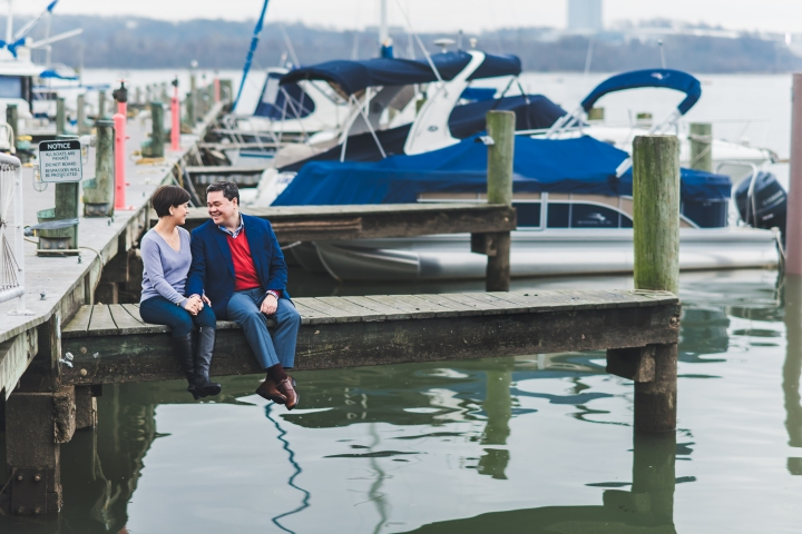 Old Town Alexandria Waterfront Engagement Session, Virginia-3