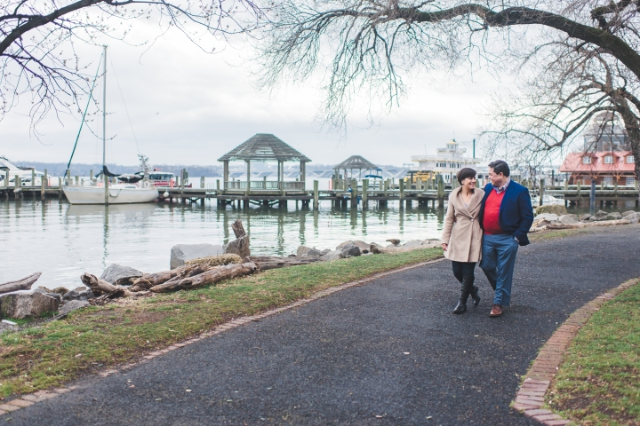 Old Town Alexandria Waterfront Engagement Session, Virginia-8