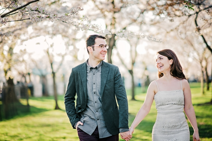 Tidal Basin Cherry Blossom Engagement Session-9