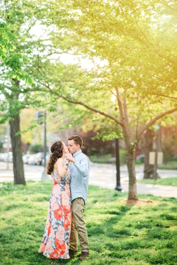 Capitol Hill Engagement Session Washington DC-17