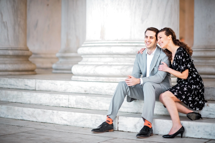 Jefferson Memorial Engagement Session Washington DC-13