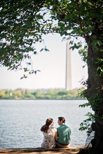 Jefferson Memorial Engagement Session Washington DC-23