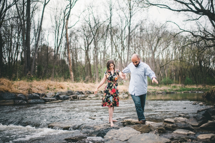 Rock Creek Park Washington DC Engagement Session-19