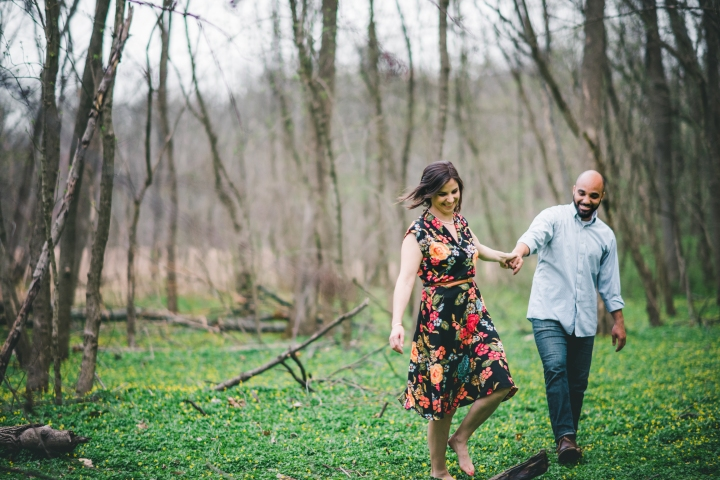 Rock Creek Park Washington DC Engagement Session-8