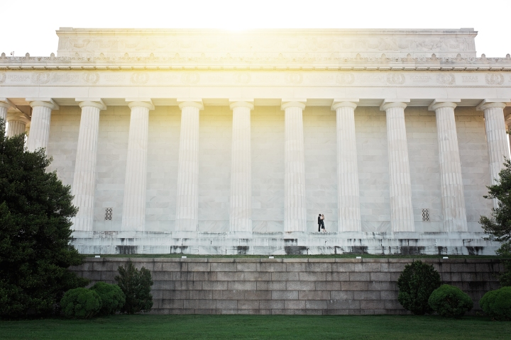 Lincoln Memorial Engagement Session-11