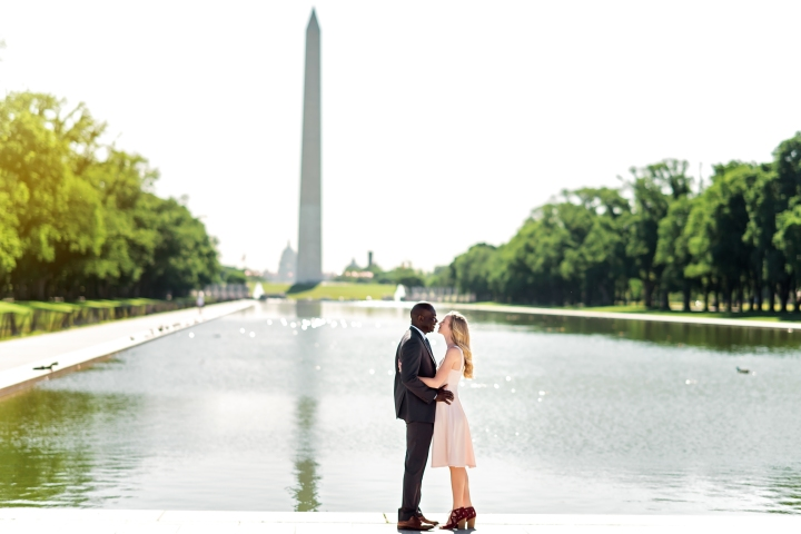 Lincoln Memorial Engagement Session-18