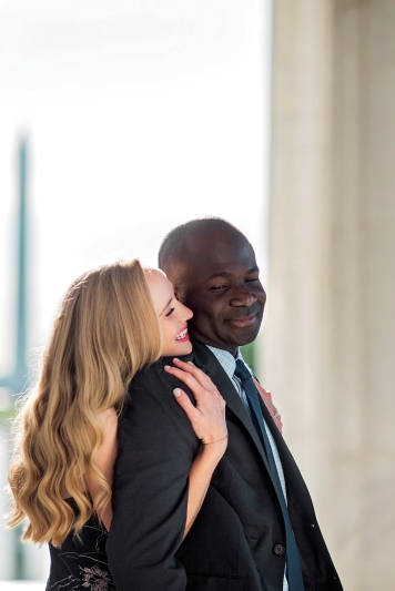 Lincoln Memorial Engagement Session-3
