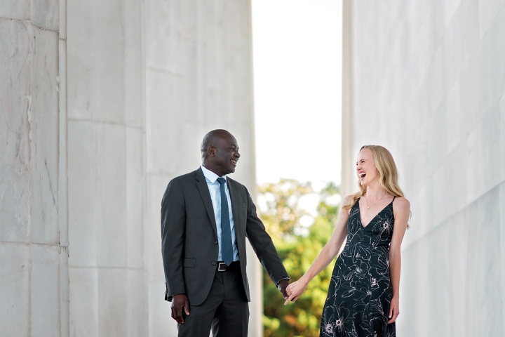 Lincoln Memorial Engagement Session-6