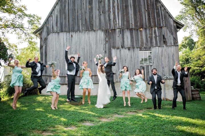 The Barns at Hamilton Station Vineyard Wedding-65