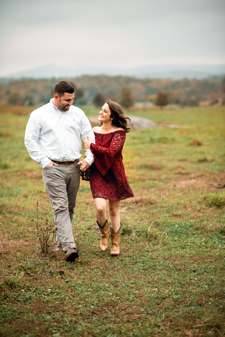 Greenhill Vineyard Engagement Session-1