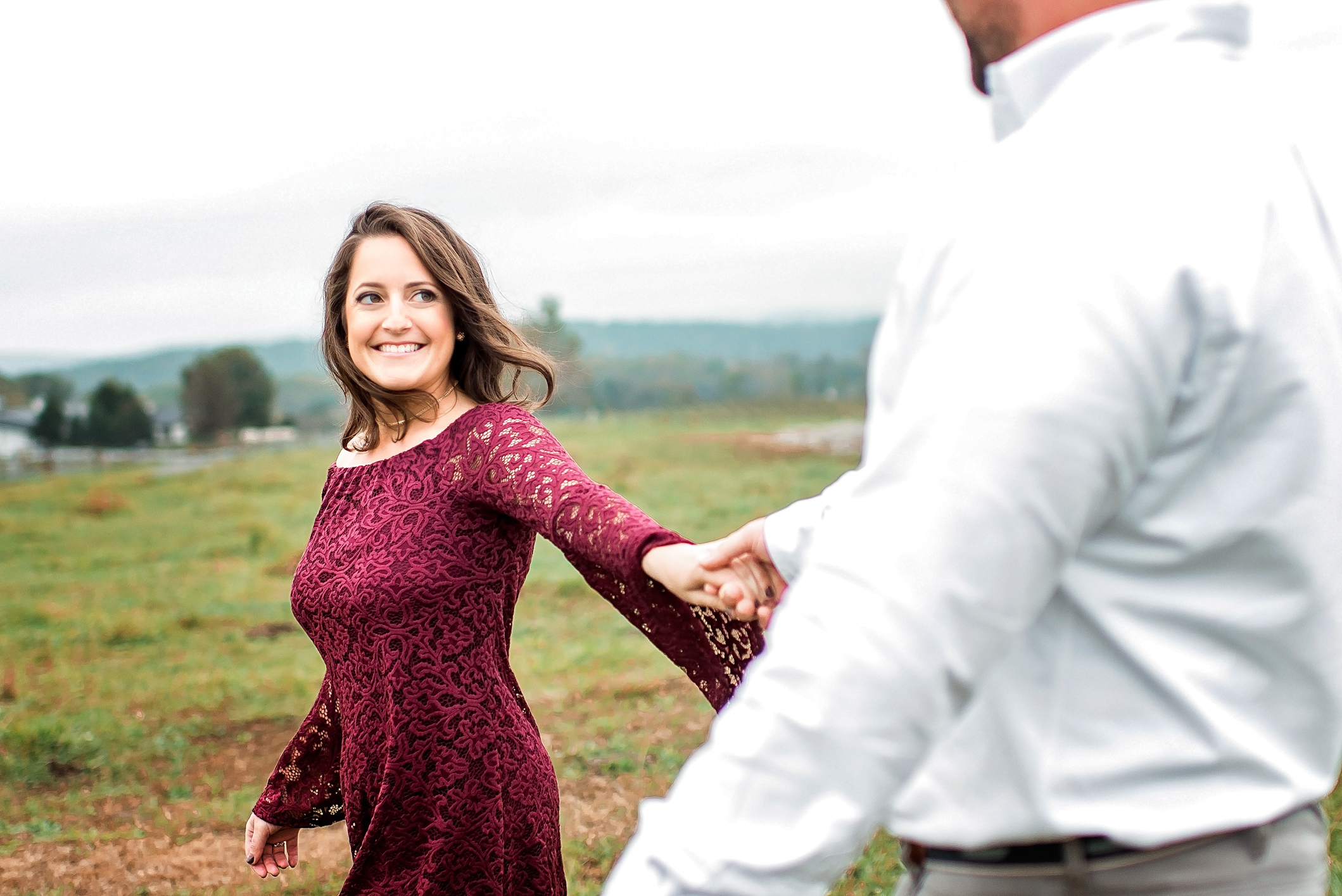 Greenhill Vineyard Engagement Session-2