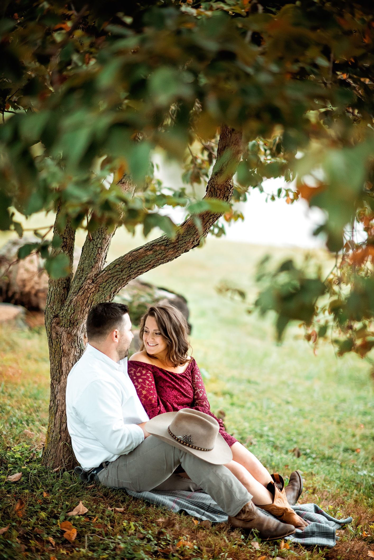 Greenhill Vineyard Engagement Session-26