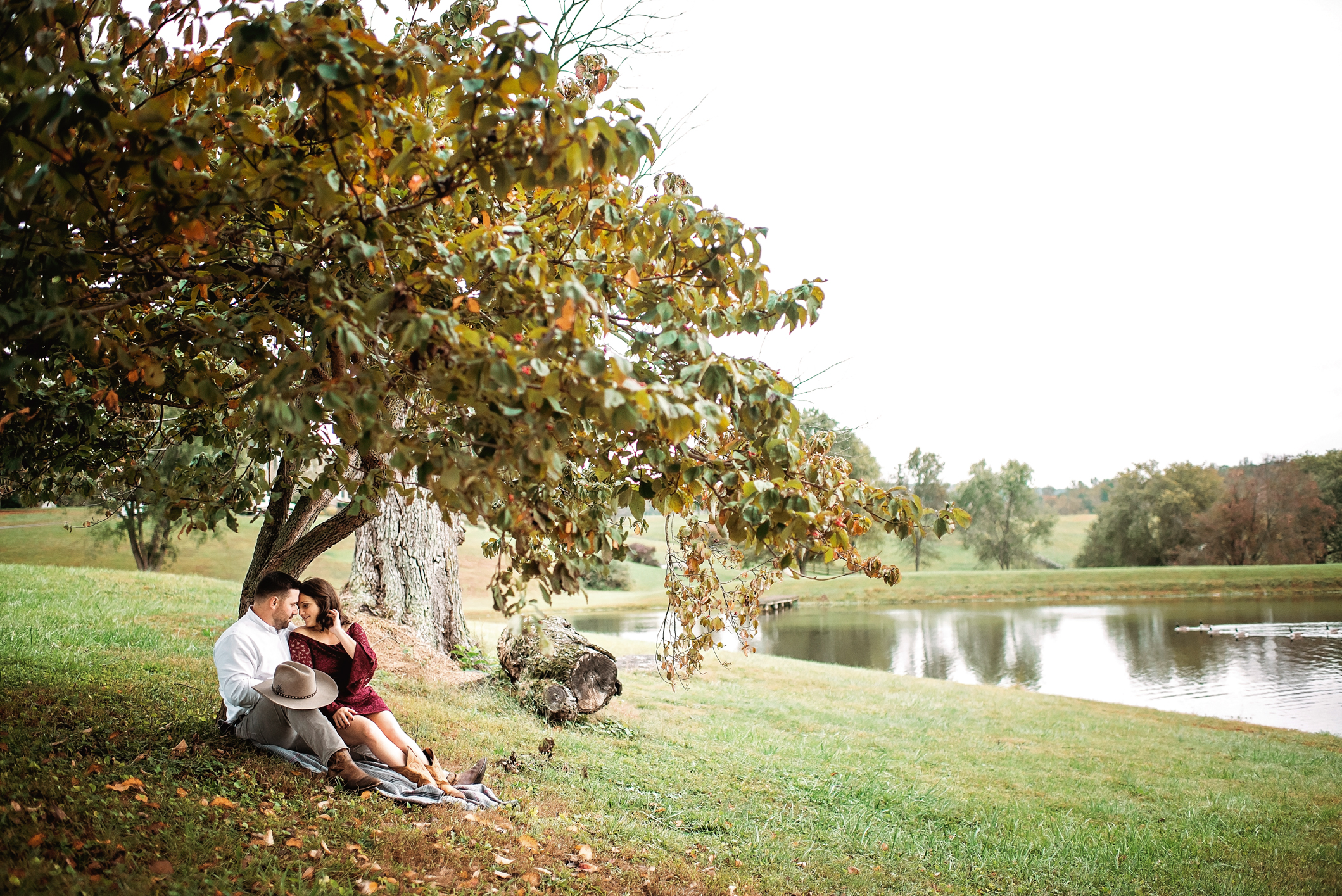 Greenhill Vineyard Engagement Session-28