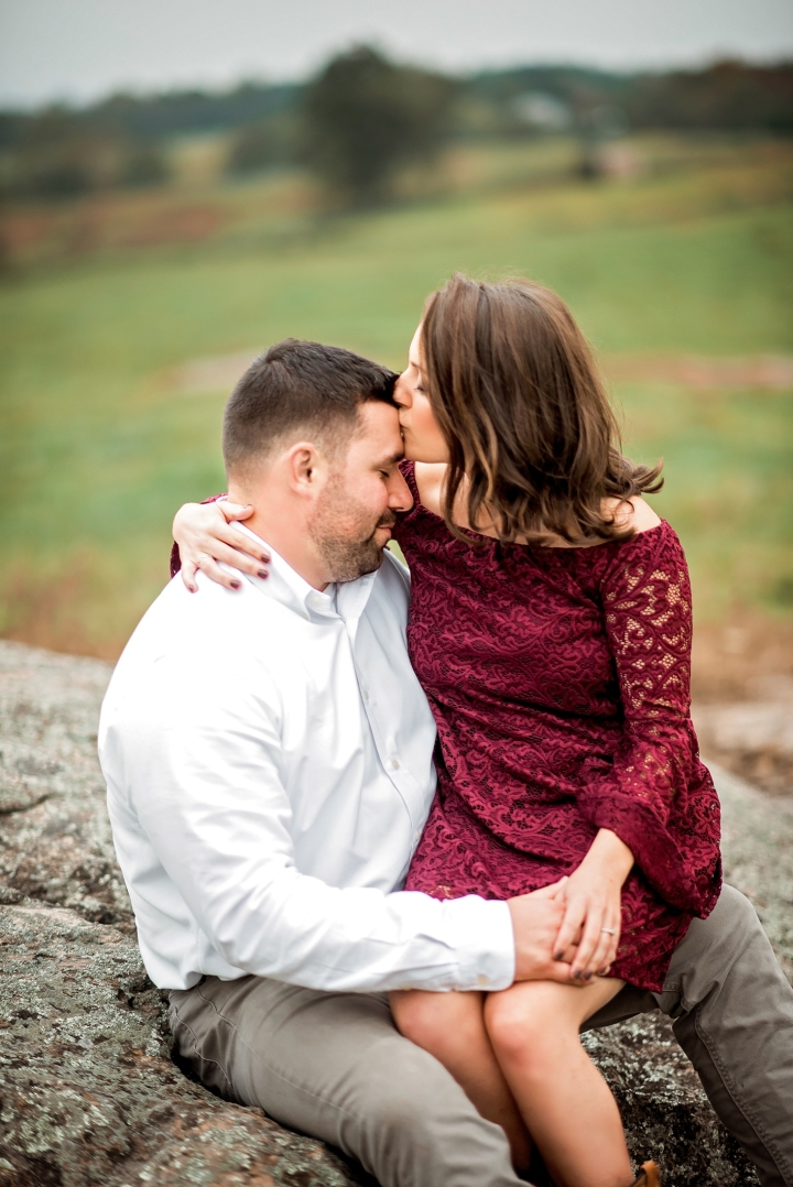 Greenhill Vineyard Engagement Session-7