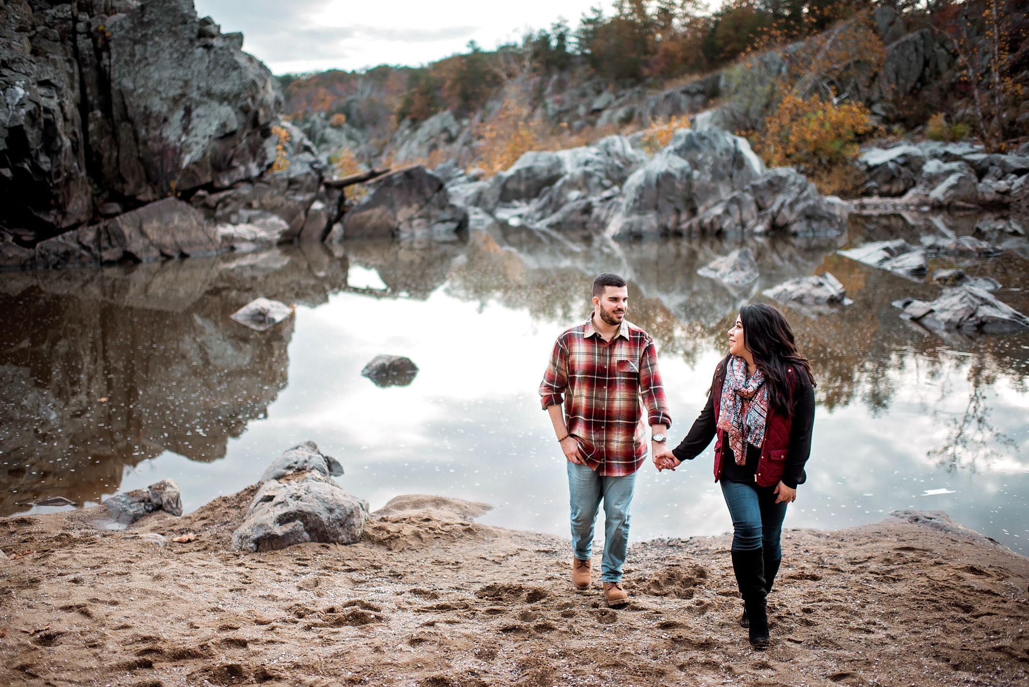 Great Falls Engagement Session Virginia-19